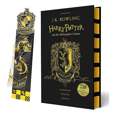 Harry Potter and the Philosopher's Stone: Hufflepuff Edition With Bookmark NEW!