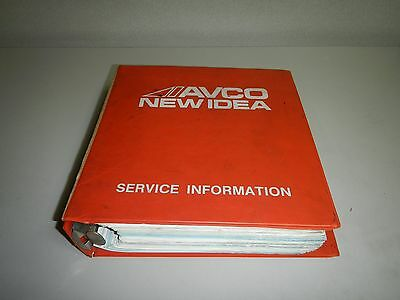 AGCO White Planters Balers Disc Mowers Service Bulletin Shop Manual
