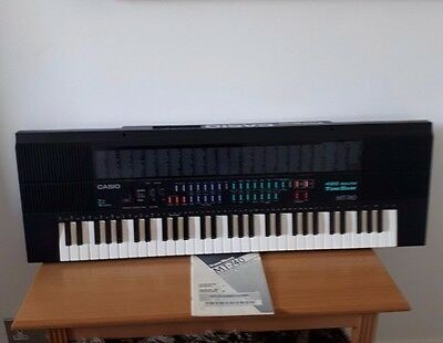 Casio MT-740 Synthesizer Electronic Keyboard With ORIGINAL Instructions