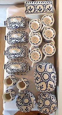 A Stunning Job Lot Of New Spanish Pottery Made By Padilla Padilla Ceramica