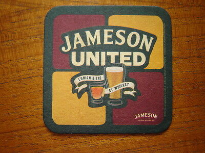 French  Jameson  Irish  Whiskey  Beer  Mat / Coaster / Sous Bock