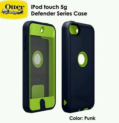 Apple Ipod touch 5th 5g 5 and 6th generation  defender otterbox case punk