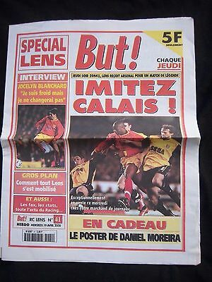 Orig.PRG   UEFA Cup  1999/00   RC LENS - ARSENAL LONDON FC  1/2 FINALE  !!  TOP