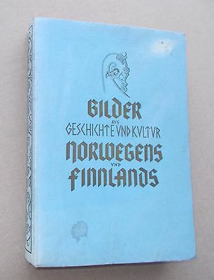 Original German Luftwaffe book WW2 1943; History & Culture of Norway,Finland; MW
