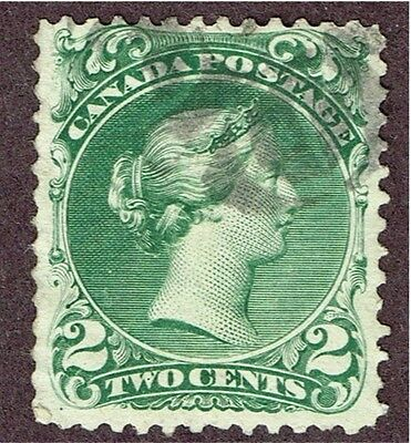 Canada 24 F-Vf  Large Queen    (Ast2