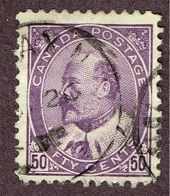 Canada #95 F-Vf Halifax Cds Cancel (Ber11