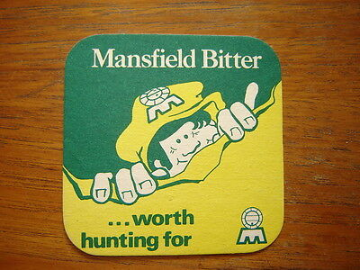 VINTAGE  MANSFIELD  BREWERY  No.51  BEER  MAT / COASTER    NEW