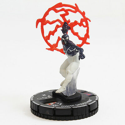 038 Cosmic Spider-Man NM W/ Card Super RARE Marval HeroClix: What If? 15th