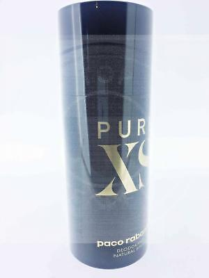Paco Rabanne Pure Xs Deodorant Spray 150Ml New Fragance 2017