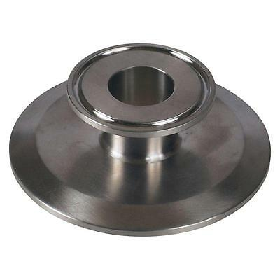 End Cap Reducer   Tri Clamp/Clover 3 inch x 1 Sanitary SS304 (2 Pack)