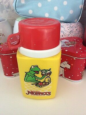 Kermit Muppets Thermos 80s VGC