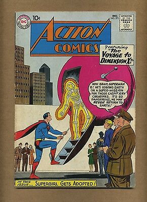 Action 271 (Solid!) Superman; Supergirl; Silver Age; DC Comics; 1960 (c#14419)