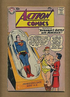 Action 268 (Solid!) Superman; Supergirl; Silver Age; DC Comics; 1960 (c#14416)