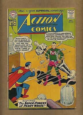 Action 278 (Solid!) Superman; Supergirl; Silver Age; DC Comics; 1961 (c#14424)