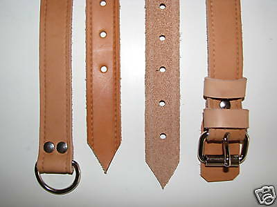 Hand Made Rear Seat Leather Luggage Straps Belts fits Early PORSCHE 911 912 S RS