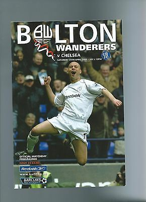 bolton wanderers v chelsea 04/05 championship clincher