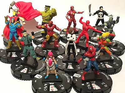 Marvel Heroclix 15th Anniversary What If? - Set of 13 Commons #001-013