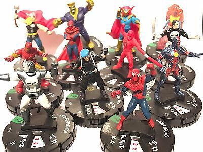 Marvel Heroclix 15th Anniversary What If? - Set of 12 Uncommons #014-025