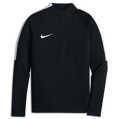Nike Squad Older Kids' Long-Sleeve 1/4 Zip Football Drill Top Shirt