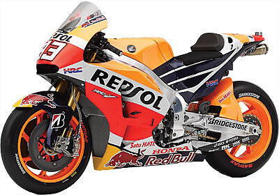 NewRay Die Cast Replica Marquez Repsol 2015 Orange