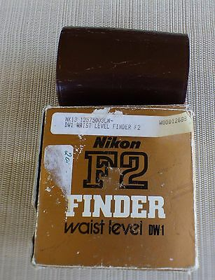 Vintagee Nikon DW-1 Waist level finder for F2 w/Box from Japan