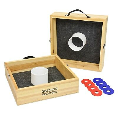 Hand Crafted Wood Washer Toss Game: *Classic Tailgating Game* FREE SHIPPING!