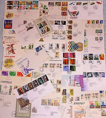 30 First day covers. Mainly GB