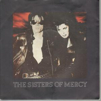 """SISTERS OF MERCY This Corrosion 7"""" VINYL UK Merciful 1987 B/W Torch (Mr39)"""