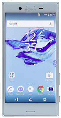 Sony Xperia X Compact mist blue NEW