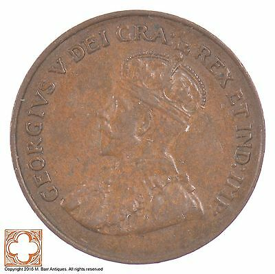 1921 Canada One Cent King George V *6360