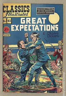 Classics Illustrated 043 Great Expectations (1947) #1 GD+ 2.5