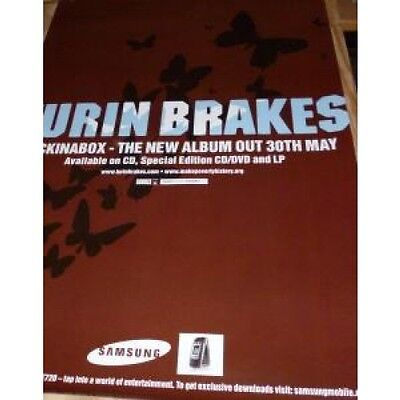 TURIN BRAKES Jack In A Box POSTER UK Promo Poster Measuring 50Cm By 70Cm