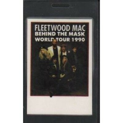 FLEETWOOD MAC Behind The Mask PASS 1990 Used Cloth Tour Passs Which Has Been