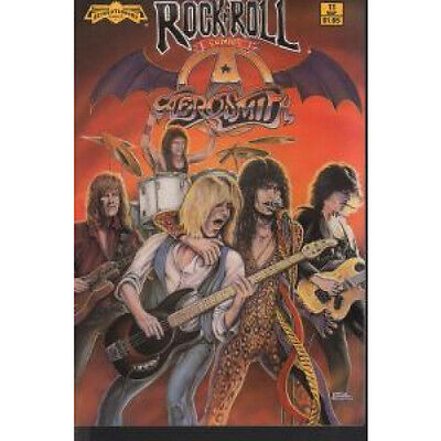 AEROSMITH Rock N Roll Comic COMIC US Revolutionary A5 Black And White Comic