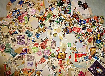 GB and World stamps. Kiloware. 500g