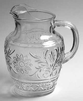 Anchor Hocking SANDWICH CLEAR 69 Oz Ice Lipped Pitcher 7132825