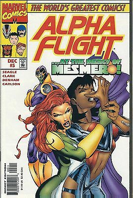 Alpha Flight #5 (1997) Marvel Comics V/f+