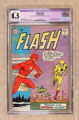 Flash (1959 1st Series DC) #139 CGC 8.5 RESTORED 1465497008