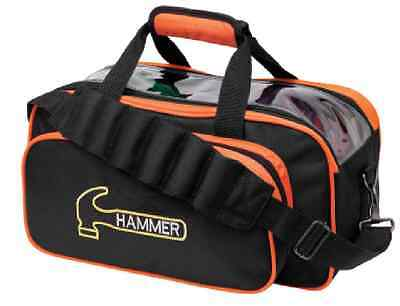 Hammer 2 Ball Shoulder Tote Bowling Bag ORANGE NEW