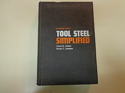 Tool Steel Simplified 1960 Tool Making Machinist Carpenter Steel Co. Reading PA