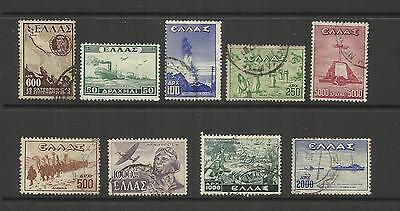 Greece ~ 1946 Victory Set (Most Used)