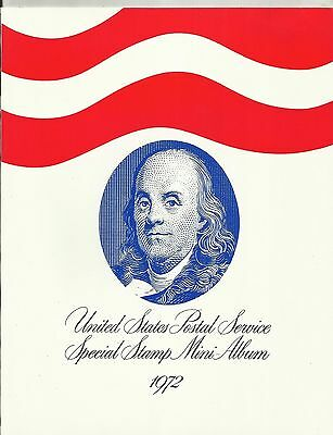 U.s.a. Post Pack ~  1972 Mini Stamp Album (Mint Mnh) Collection