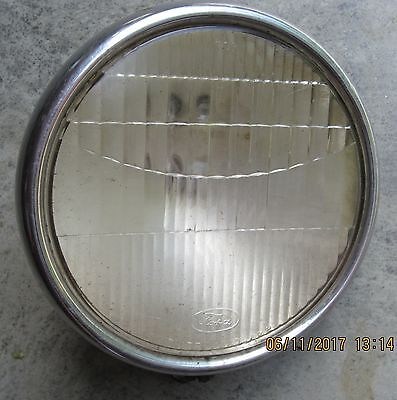 Ford Twolite Headlamp And Lens 1920's ? Headlight Vintage Original Barn Find
