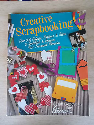 Creative Scrapbooking~Sandi Genovese~300+ Cutouts, Patterns, Ideas~Cards~Pages