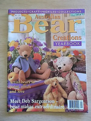 Australian Bear Creations Vol 5 #3~Alfred & Bun~Jessi~George~Flore~Cushion~Box