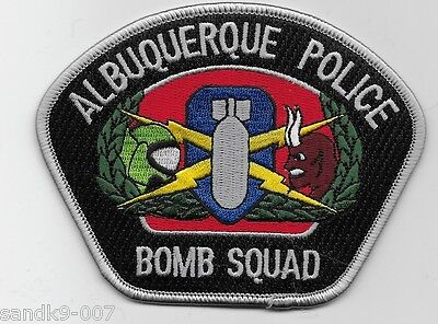 NEW Albuquerqe POlice EOD Bomb Squad State New Mexico NM Patch Colorrful