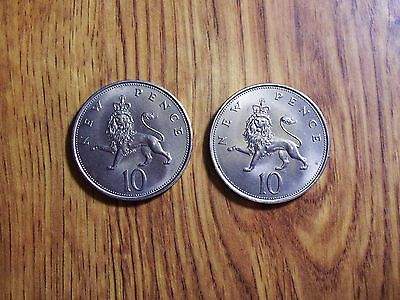 Great Britain Two 10 Pence  High Grade Coins (33)