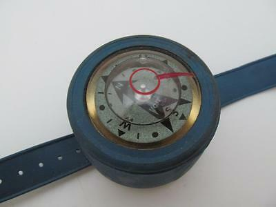 VINTAGE VOIT SCUBA DIVING COMPASS GAUGE WRIST WATCH hunting hiking