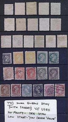 Canada Small Queens Study Group VF Used High CV