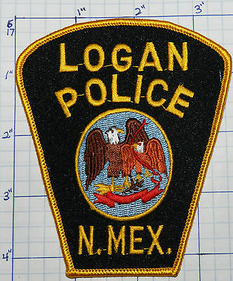 New Mexico, Logan Police Dept Patch